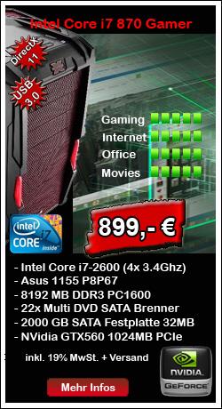 Gamer PC Systeme von SK Computer Alsdorf bei Aachen