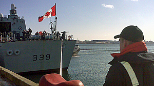 HMCS Charlottetown is expected to leave Halifax late Wednesday for Libya.