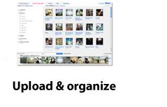 Upload & organize