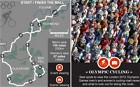 Interactive map - London 2012 Olympics Interactive guide to the men's and women's road races from London to Box Hill and back
