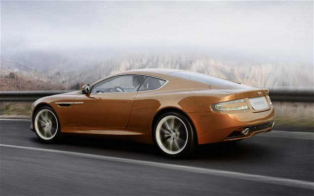 Aston Martin resurrects the Virage
