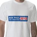 Ron Paul for President 2012 T-Shirt Male shirt