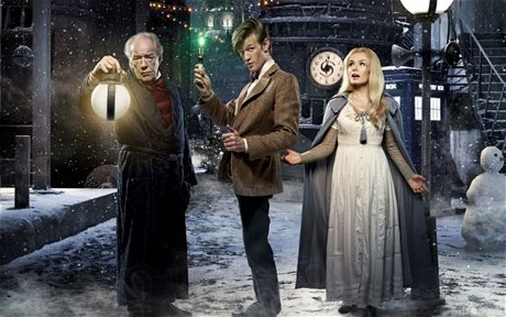 Doctor Who Christmas Special: A Christmas Carol: Michael Gambon, Matt Smith and Katherine Jenkins