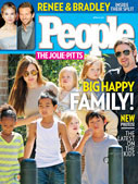 The Jolie-Pitts&#58;<br>Big Happy Family!
