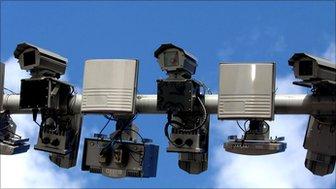 Street cameras, London