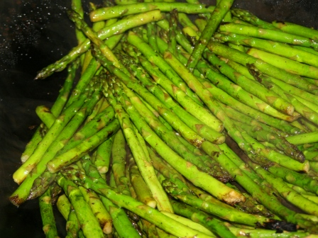 best BBQ asparagus ever: