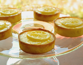 lemon tarts: