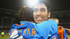 'Dhoni made the difference for India'