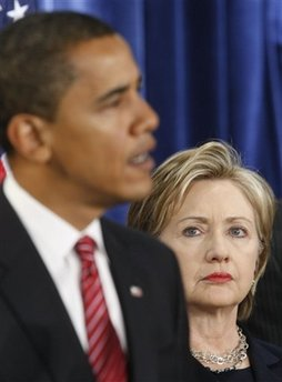 Hillary Clinton back as Secretary of State… Obama is either a genius or a complete idiot.