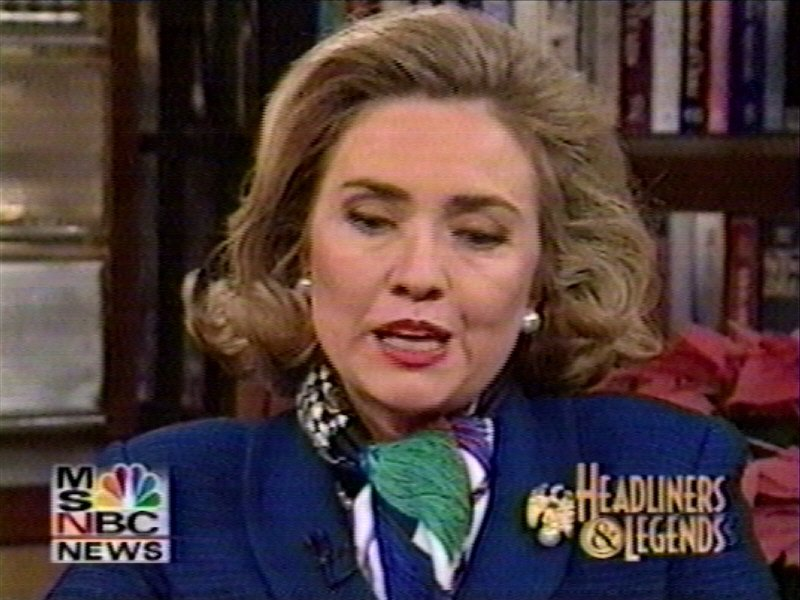 Hillary From Back in the Day - Failed the D.C. Bar Exam?