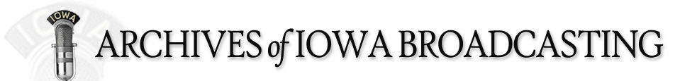 Archives of Iowa Broadcasting Logo