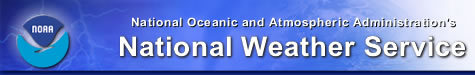 NOAA's National Weather Service banner
