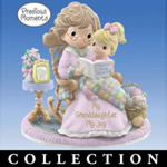 Precious Moments My Blessed Granddaughter Figurine Collection - Darling Collectible Precious Moments® Figurines Make Ideal Grandmother Granddaughter Gifts! Hamilton Collection Exclusive