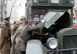 WWII military vehicle show in St. Petersburg