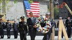 President Obama lays Ground Zero wreath (5 May 2011)