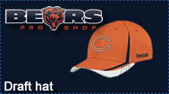 Chicago Bears 2011 Player Draft Hat