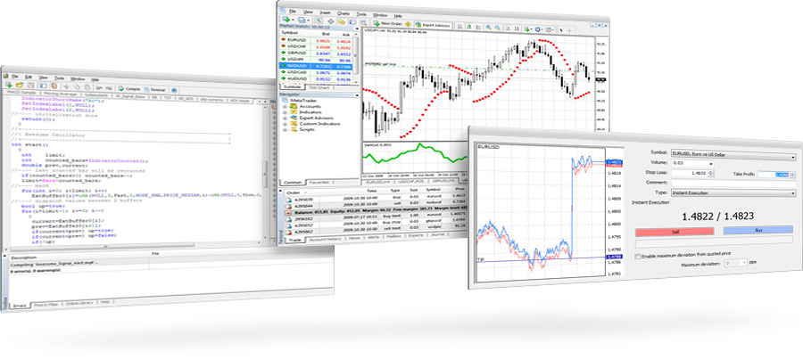 MetaTrader 4 Terminal - all-in-one: trading, analytics and  automated trading