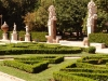 Formal gardens of Borghese Gallery