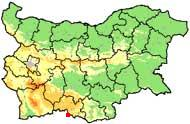 Location Map  - Village of Arda, Municipality Smolyan, South-Central Bulgaria