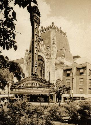 Paradise Theater, ca. 1928