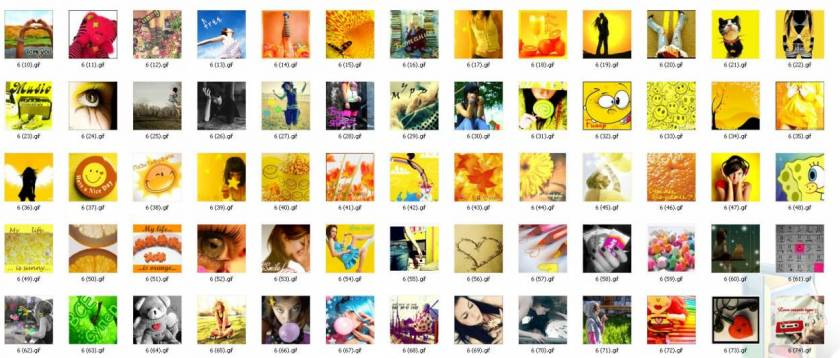 Сборник анимированных аваторов 2011(100х100,120x237,150х85,150х150) для Ucoz