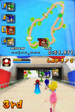 'Mario & Sonic at the Olympic Games' Screenshot 1