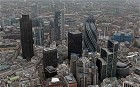 .Buildings including the Tower 42, left, the Swiss Re building, also known as the