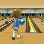 Bowling in Wii Sports (Image © Nintendo)