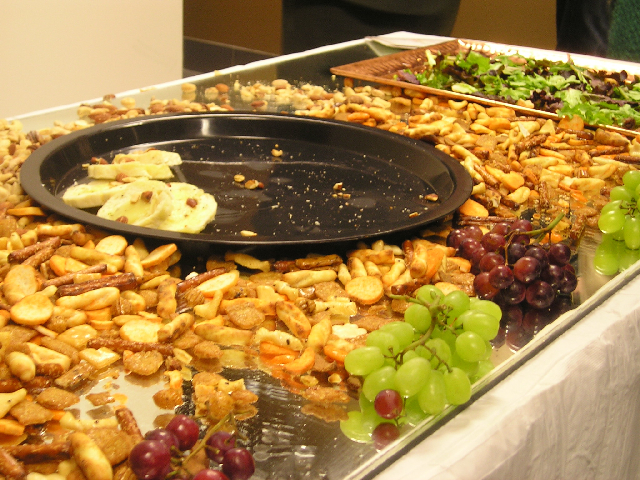 buffet table remainders