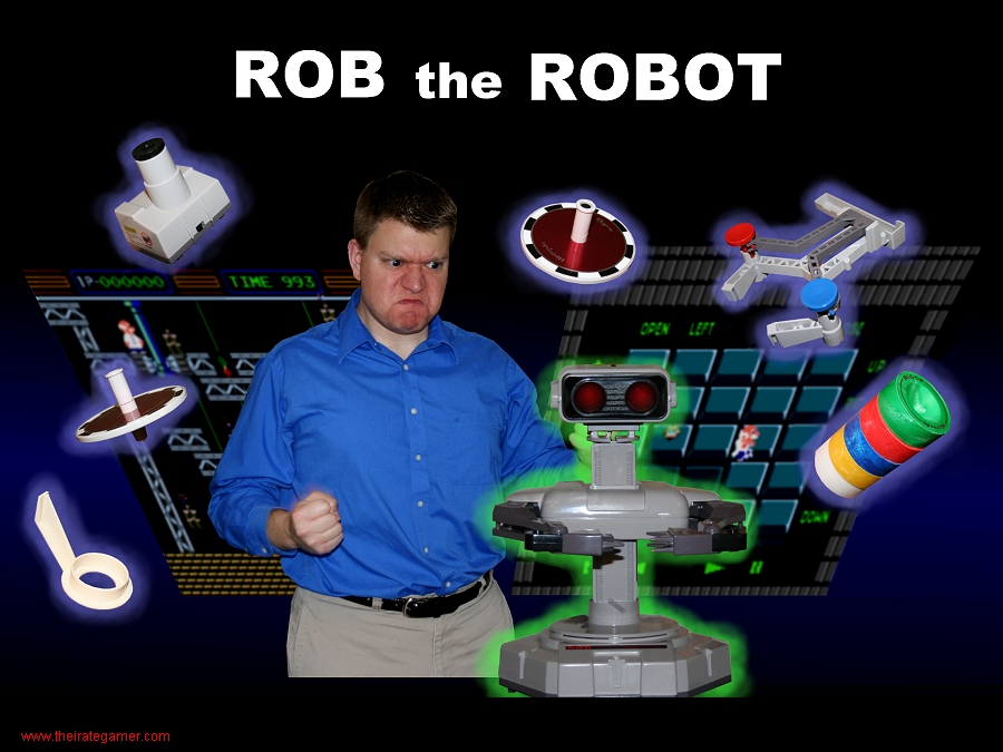 Irate Gamer Rob the Robot