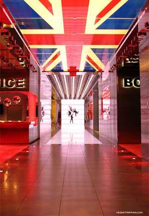 Union Jack and Psychadelic Hallway