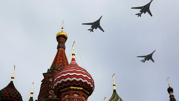 Russia's Air Force rehearses for Victory Day parade over Moscow