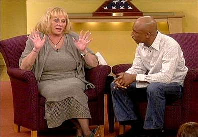 Psychic Sylvia Browne on 'The Montel Williams Show' last year
