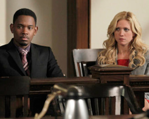 Exclusive: Harry's Law Parts Ways With Brittany Snow and Aml Ameen