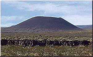 one of many cinder cones visible from Kelbaker Rd., Mojave National Preserve
