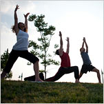 Sky's the Limit: Yogis Head Outdoor