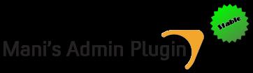 Mani admin plugin для css v61