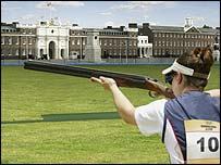 How shooting events would look at a London Olympics