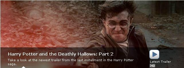 Harry Potter and the Deathly Hallows: Part 2 -- Trailer #2