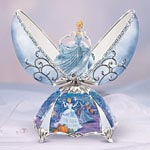 Elegant Cinderella Musical Egg - Exclusive First-ever Peter Carl Faberge Style Musical Egg Celebrates the Magical Beauty of Disney Princess Cinderella!