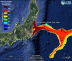 Fukushima Daiichi Radioactive Seawater Model - Radiation Spreads Throughout Pacific Ocean!