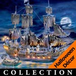 Disney Pirates Of The Caribbean Collectible Black Pearl Ghost Ship Collection - Set Sail with Disney Pirates of the Caribbean Ship and Figurine Collection Inspired by the Epic Movie! Exclusive