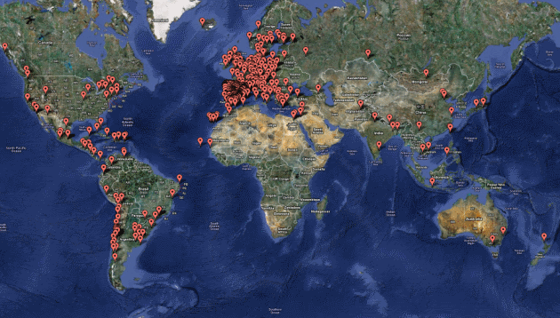 Camp Sites Around The World That Have Popped Up In The Name Of Revolution Calling For Real Democracy
