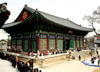 Jogyesa Temple is the center for Zen Buddhism in Korea and sits in the heart of Seoul.