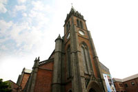 Myeongdong Cathedral, central Seoul