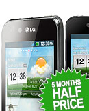 NEW. LG Optimus Black