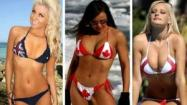 Flag Bikinis From Around The World