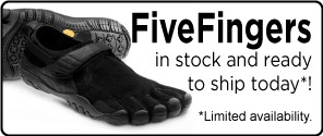 Vibram FiveFingers Available to Ship Today!