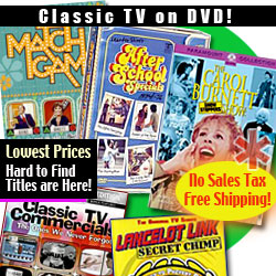 Classic TV Shows on DVD
