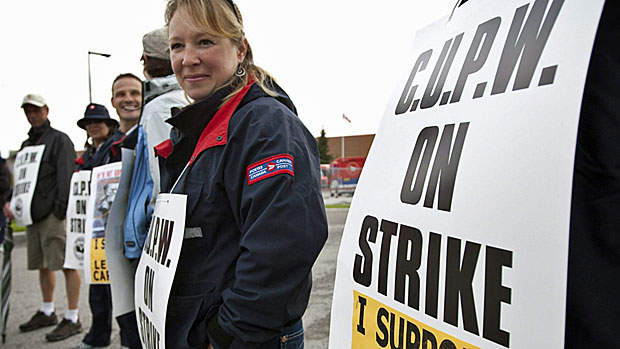 Canada Post locked out its workers on Tuesday, after days of rotating strikes that didn't really seem to significantly impact the public. Labour Minister Lisa Raitt's office said Wednesday that the federal government is now considering back-to-work legislation.